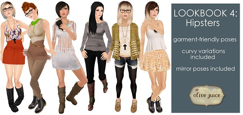 Lookbook 4: Hipsters