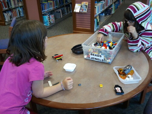 Lego fest at library