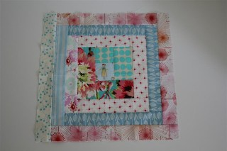 Bits & Pieces block received from Corrie