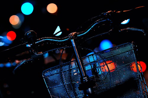 Bike in the Rain by hidesax