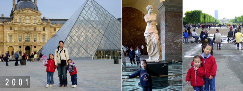 2001 Paris trip