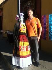 Ron and the Catrina @ Oaxaca 10.2011