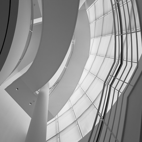 Getty Center staircase