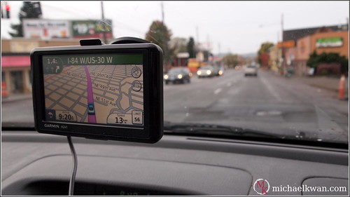 GPS Navigating