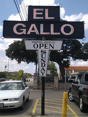 "El Gallo, Austin, Texas • <a style=""font-size:0.8em;"" href=""http://www.flickr.com/photos/41570466@N04/7024448129/"" target=""_blank"">View on Flickr</a>"