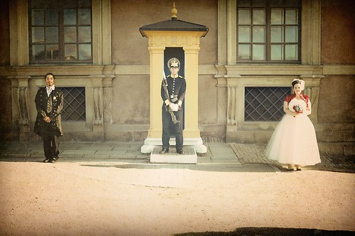 Hanging out with the Royal Guard at the Royal Castle…