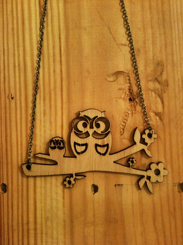 Necklace Owl 1
