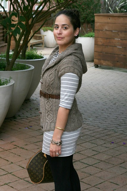 Knit Style: Heather Hoodie Vest