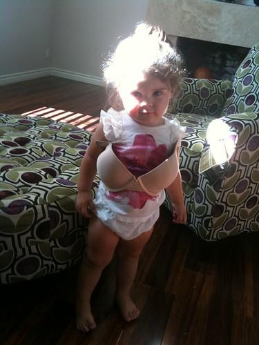 Yep. That's my bra.
