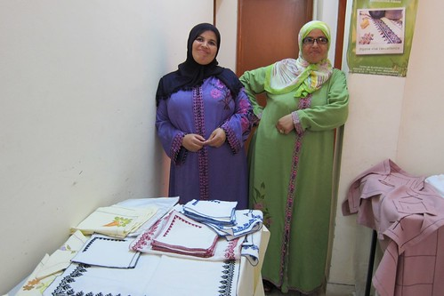 TechWomen with the Association MOUASSAT, Casablanca Morocco