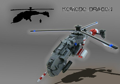Komodo Dragon Copter by aabbee 150