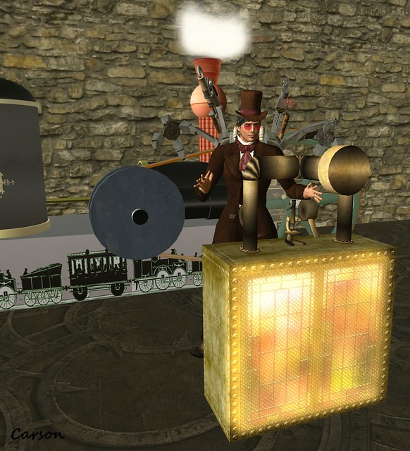 Warehouse 13 - Wild West Steam Engine, Nadeau Shoppe - Mad Thad's Workstation