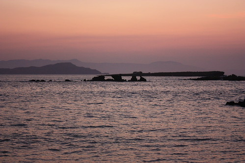 Chania, sunset