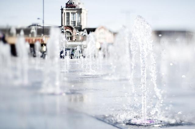 Kursaal Fountain Tilt
