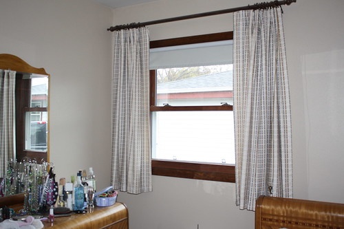 old curtains bedroom
