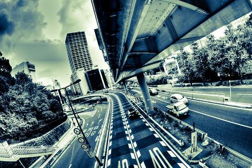 Route 246, Chiyoda-ku, Tokyo by hidesax