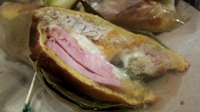 mediodia sandwich at super pan latino