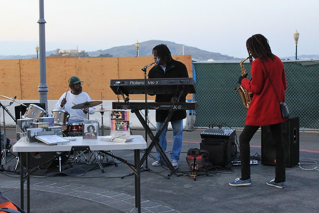 Street jazz players