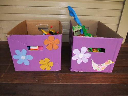 Cardboard Storage Box 5