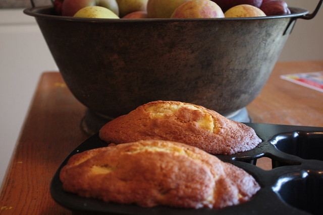 Apple Bread with Vanilla and Ginger