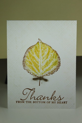 2011 WORLD CARD MAKING CONTEST - 3 - Thank You by kimba7669