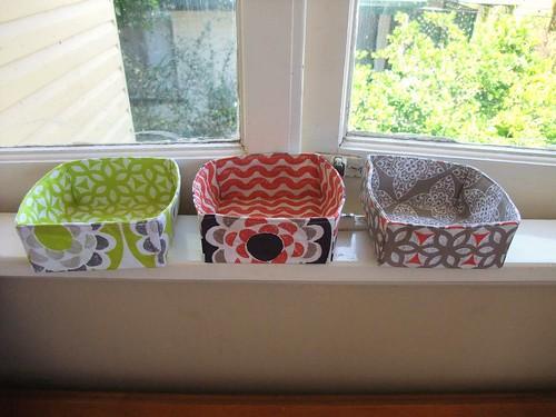 Fabric Baskets 1