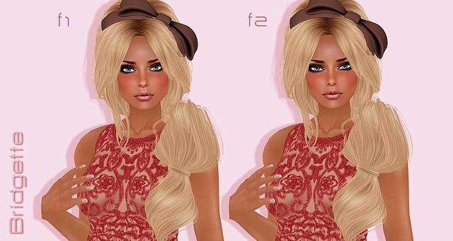 Bridgette face 1 vs face 2