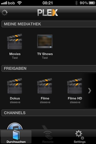 Plex am iPhone