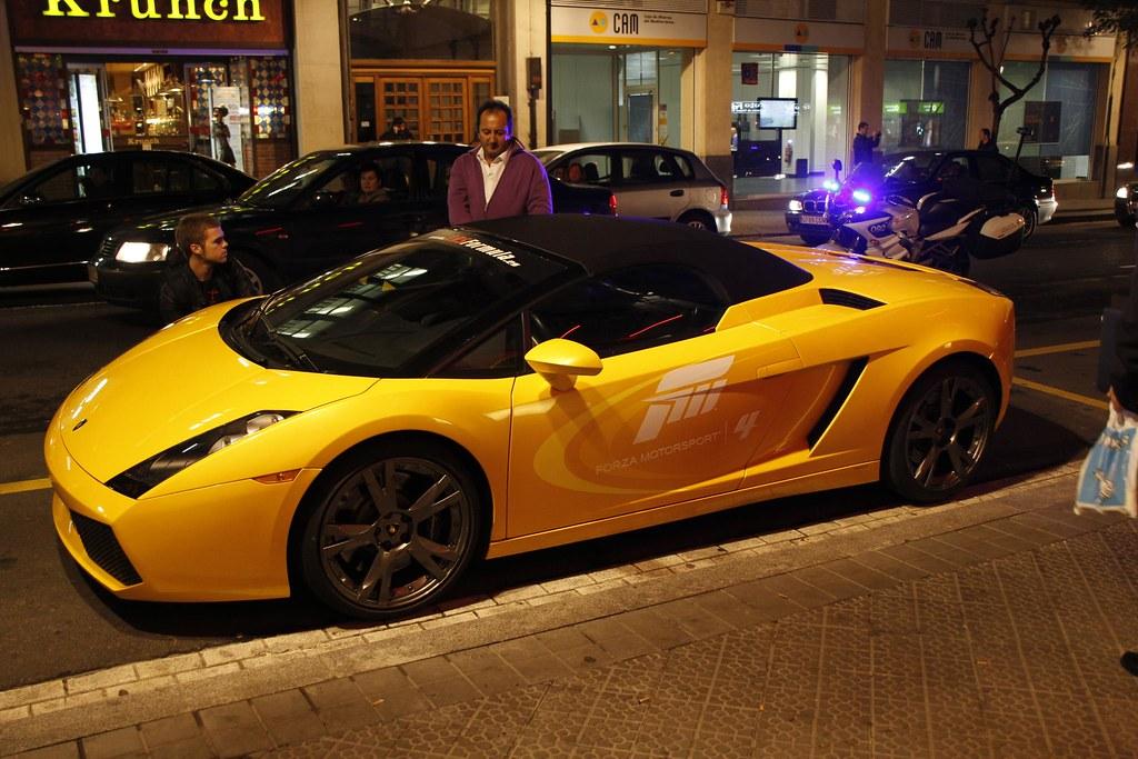 Lamborghini en Bilbao