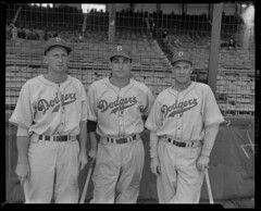 Brooklyn Dodgers at Braves Field