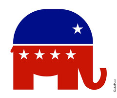 Republican Elephant - Icon