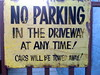 """No Parking, Austin, TX • <a style=""""font-size:0.8em;"""" href=""""http://www.flickr.com/photos/41570466@N04/6267297436/"""" target=""""_blank"""">View on Flickr</a>"""