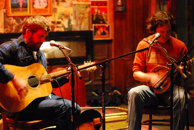 josh oliver & andrew marlin @ the station