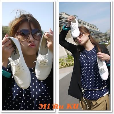 【S40007】復古牛津娃娃鞋(現貨+預購) NT1100