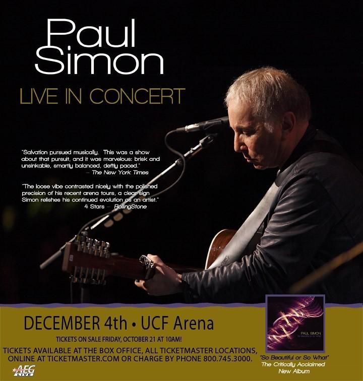 Paul Simon at UCF Arena