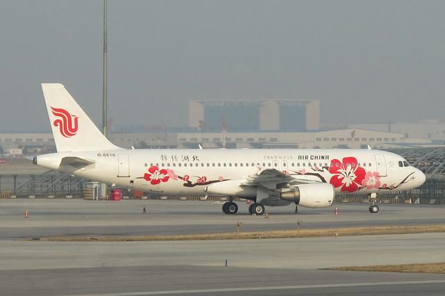 Air China A320-200(B-6610)