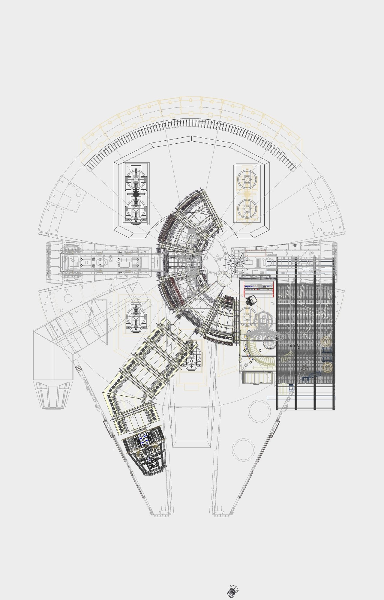 Millennium Falcon Notes