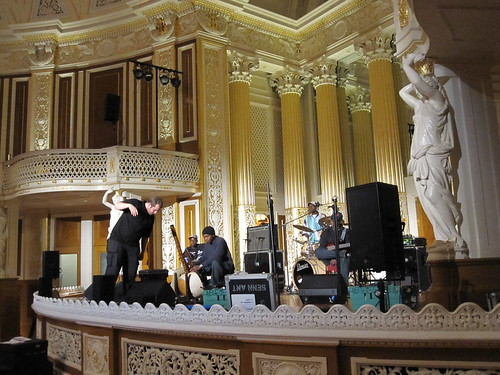 Toumani soundchecking - Liverpool