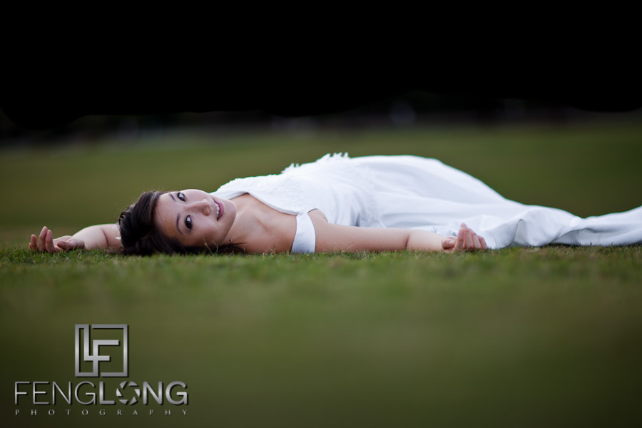 Alice's Bridal Portrait Glamour Session | Piedmont Park | Atlanta Wedding Photographer