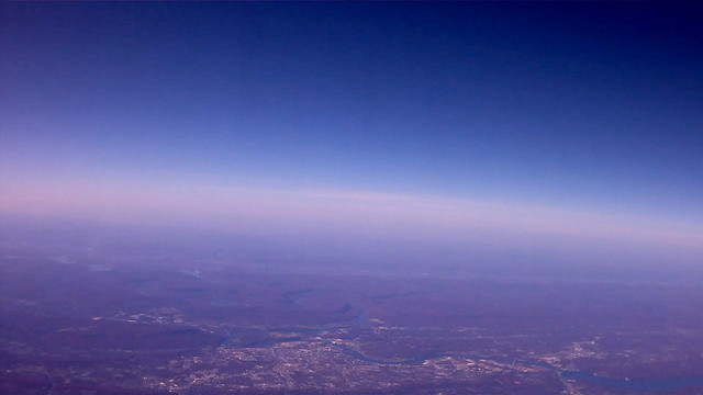 Chattanooga at 22,000 feet
