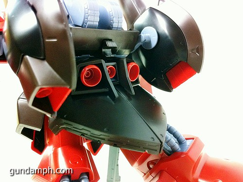 MG Rick Dias Quattro Custom RED Review OOB Build (53)