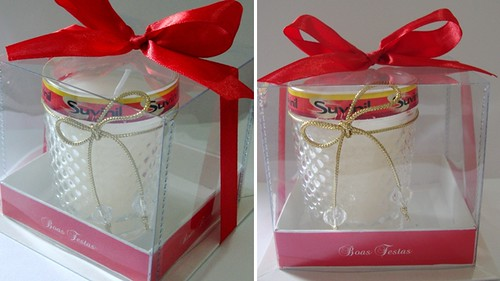 Vela personalizada Suvinil  by by Luciana Godoy - Lembrancinhas Personalizadas