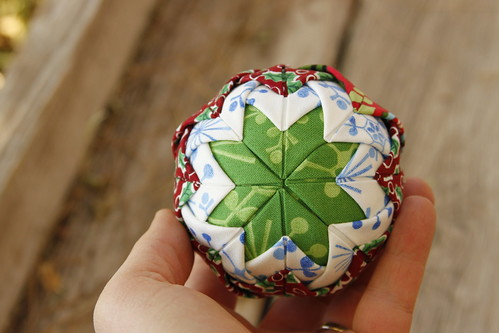 quilted ball