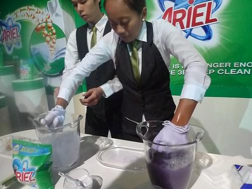 the Ariel test