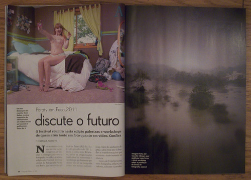 Magazine article for Paraty Em Foco