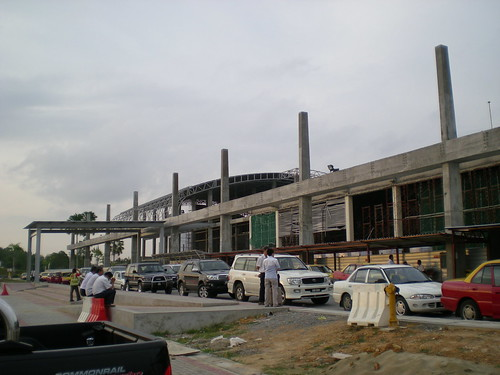 Sibu airport reconstruction 1