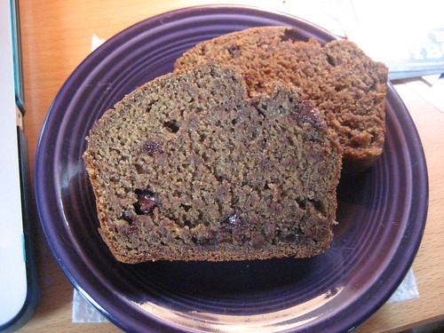 veganomicon banana bread, revised