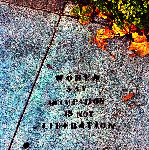 Occupation Is Not Liberation
