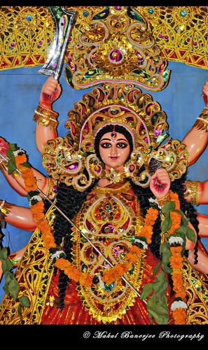 Durga Puja 2011 Protima, BQ-Block Shalimar Bag...