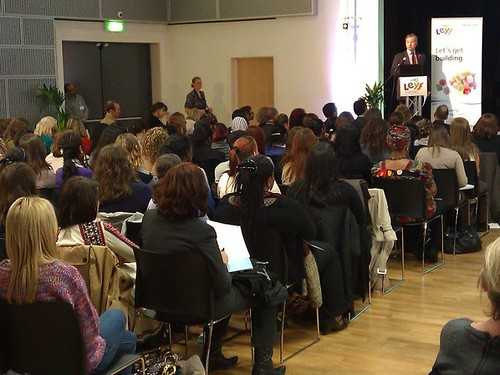 Michael Gove MP addresses LEYF Staff conference